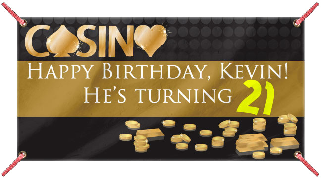Casino Gold - Custom Banner