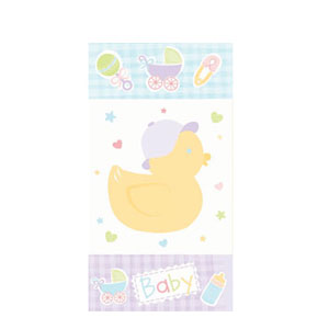 Chick Baby Shower Favor Bag