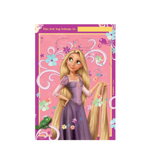 Disney Tangled Folded Loot Bags- 8ct