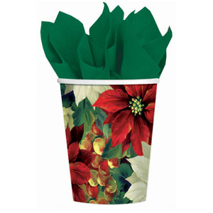 Regal Poinsettia Cups