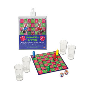Shots and Dice are Nice Drinking Game