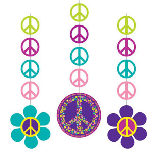 Groovy Girl Hanging Cutouts- 3ct