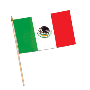 Mexican Flag- 18in