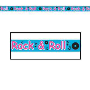 Rock And Roll Party Tape - 20ft