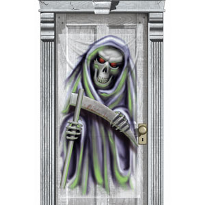 Grim Reaper Door Decoration 65in