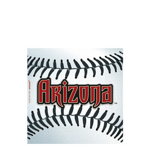 Arizona Diamondbacks Beverage Napkins- 36ct
