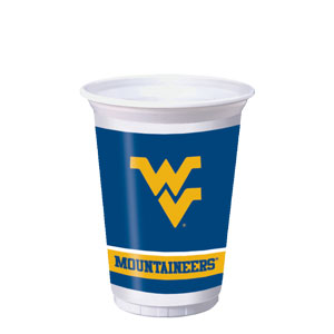 West Virginia 20 oz. Cups