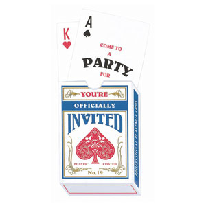 Deck of Cards Invitation- 8ct