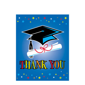 Star Grad Thank You Cards