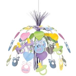 Baby Shower Hanging Cascade - 24 Inch