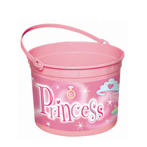 Princess Plastic Bucket