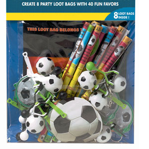 Championship Soccer Favor Pack- 48pc