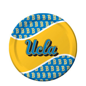 UCLA 9 Inch Dinner Plates- 8ct
