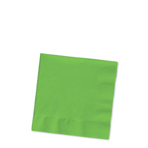 Citrus Green Beverage Napkins