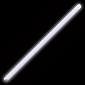Fun Central F9 16 Inch Glow in the Dark Stick - White