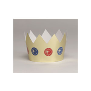 Gold Foil Crown - 6ct