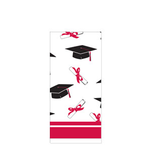 Grad Plastic Tablecover - Red