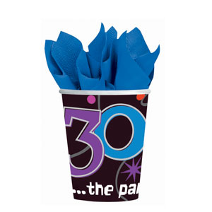 The Party Continues-30 9 oz. Cups- 8ct