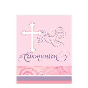 Communion Invitations - Pink