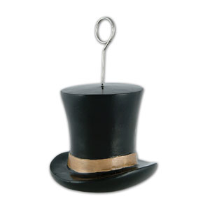 Gold Top Hat Balloon Weight - 6oz