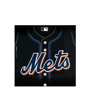 New York Mets Luncheon Napkins- 36ct