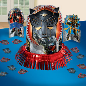 Transformers 3 Table Decorating Kit- 23pc