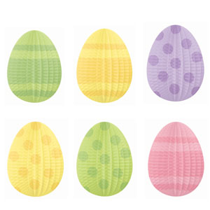 Mini Egg-Shaped Hanging Decoration