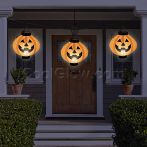 Halloween Light-Up Lanterns- 3ct