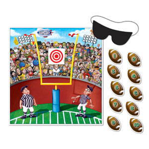 Pin the Ball Football Game- 12pc