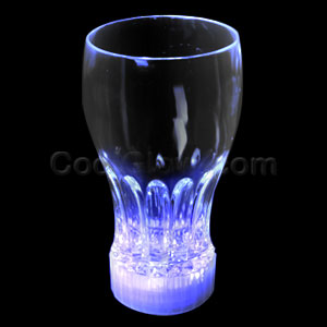 LED 12oz Flashing Cup - Blue