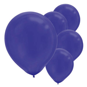 Purple Latex Balloons- 15ct