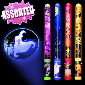 LED Halloween Projector Wands