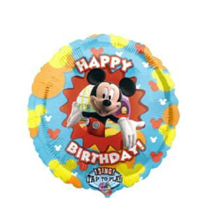 Mickey Clubhouse Birthday Singing Balloon- 28 Inch