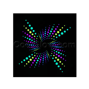 LED Sound Activated Patch - Star Light