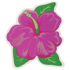 Hibiscus Flower Cutout