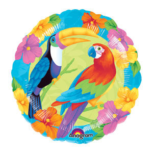 Birds of Paradise Balloon- 18in