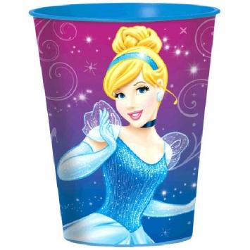 Disney Cinderella Plastic Favor Cup- 16 oz