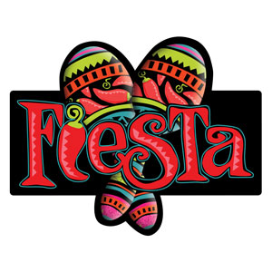 Fiesta Cutout- 21in