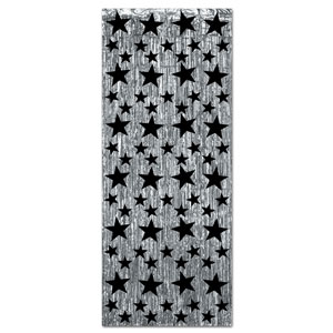 Star Gleam Curtains - Silver