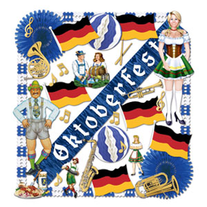 Oktoberfest Decoration Kit - 36ct