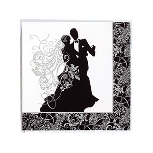 Silhouette Luncheon Napkins