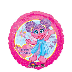 Abby Cadabby Birthday Balloon- 18in