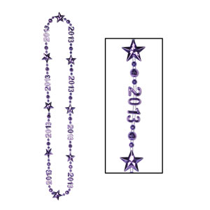 2013 Party Beads - Purple