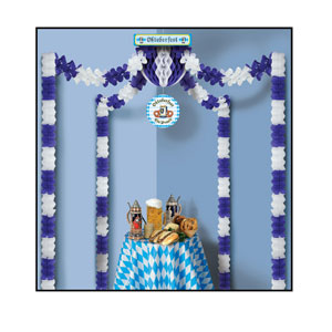 Oktoberfest Party Canopy - 20ft by 20ft