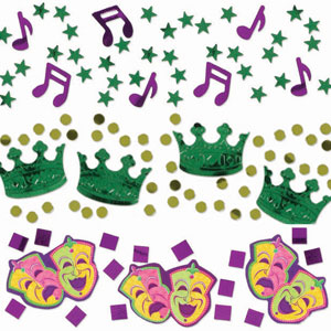 Mardi Gras Value Confetti