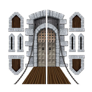 Castle Door and Windows Props - 9ct