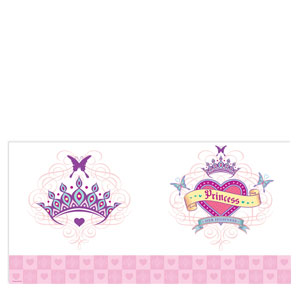 Her Highness Plastic Tablecover- 108in