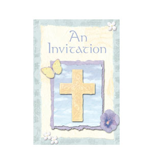Inspirations Folded Invitations- 8ct