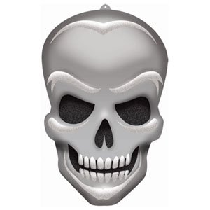 Glitter Skull Decoration- 21in
