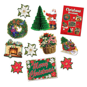 Christmas Decorama - 10ct